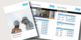 Knauf Metal Product Range 2018